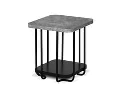 Tavolino quadrato in melamina KAL   Tavolino quadrato -