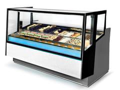 Vetrina refrigerata da bancone per gelatiKALEIDO | Vetrina refrigerata per gelati - ISA
