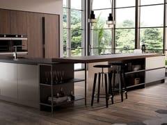 Cucina componibile con maniglie integrateKALÌ | Cucina con penisola - ARREDO 3