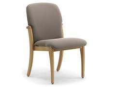 Sedia in legno lamellare e tessutoKALI | Sedia - LEYFORM