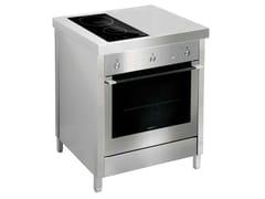Cucina a libera installazione in acciaio inoxKALOS KA070GUP - GPS INOX