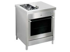 Cucina a libera installazione in acciaio inoxKALOS KA070HUP - GPS INOX