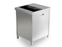 Cucina a libera installazione in acciaio inoxKALOS KA070LSP - GPS INOX