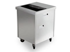 Cucina da esterno elettrica in acciaio inoxKALOS KA070MSR - GPS INOX