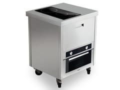 Cucina da esterno elettrica in acciaio inoxKALOS KA070FUR - GPS INOX