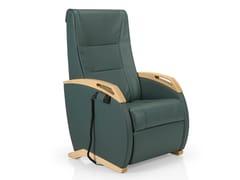 Poltrona reclinabile in pelle con braccioliKANGAROO   Poltrona reclinabile - JMS - J. MOREIRA DA SILVA & FILHOS