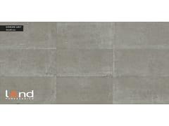 Pavimento/rivestimento in gres porcellanato tecnico effetto pietra KANKARE GREY - KANKARE
