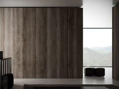 GLAMORA, KARAKUM Carta da parati effetto legno lavabile in vinile