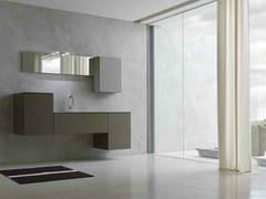 Sistema bagno componibile KARMA - COMPOSIZIONE 17 - Karma