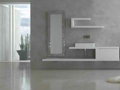 Sistema bagno componibile KARMA - COMPOSIZIONE 19 - Karma