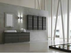 Sistema bagno componibile KARMA - COMPOSIZIONE 22 - Karma