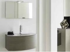 Sistema bagno componibile KARMA - COMPOSIZIONE 27 - Karma