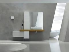 Sistema bagno componibile KARMA - COMPOSIZIONE 31 - Karma