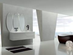 Sistema bagno componibile KARMA - COMPOSIZIONE 32 - Karma