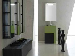 Sistema bagno componibile KARMA - COMPOSIZIONE 33 - Karma