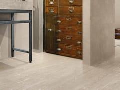 Pavimento/rivestimento in gres porcellanato effetto legno per interni KARMAN LEGNO SABBIA - Karman