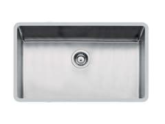 Lavello a una vasca sottotop in acciaio inoxKE R15 71X40 S/TOP TPR INOX - FOSTER