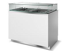 Vetrina refrigerata da bancone per gelatiKELLY | Vetrina refrigerata per gelati - ISA