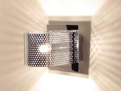 Lampada da parete a LED fatta a mano in lamiera di ferroKENDO W1 | Lampada da parete in ferro - BERTI BARCELONA