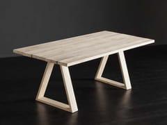 Tavolo da pranzo rettangolare in legno KENZO + MEKANO - ECOLAB 2