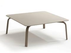 Tavolino da giardino quadrato in alluminio KEY WEST | Tavolino quadrato - Key West