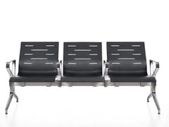 Seduta su barra a pavimento con braccioliKEYPORT - KASTEL