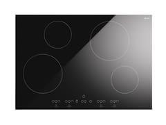 Piano cottura a induzione da incasso in vetroceramicaKHVI75TC | Piano cottura - ILVE