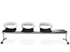 Seduta su barra a pavimento in plasticaKICCA | Seduta su barra - KASTEL