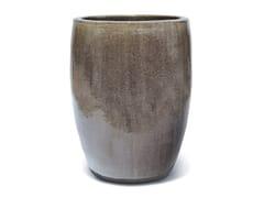 Vaso da giardino fatto a mano in terracottaKIEV LIVING GREY - PAOLELLI GARDEN