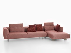 Divano con chaise longue KIM | Divano con chaise longue -