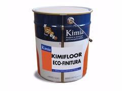 Kimia, KIMIFLOOR ECO-FINITURA Resina poliuretanica bicomponente per impermeabilizzazioni