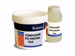 Kimia, KIMIFLOOR ECO-FINITURA PLUS Resina poliuretanica bicomponente all'acqua
