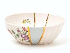 Insalatiera in porcellanaKINTSUGI | Insalatiera - SELETTI