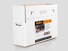 Kit per fermaruota in gomma vulcanizzataKIT ARC 5500 - ARCO