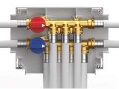 Sistema a collettore per impianti sanitari KIT KOMPACT MI -
