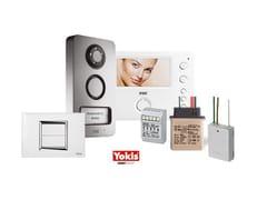Sistema domotico per gestione automazioni per uso domesticoKit villa 2Voice + Yokis - YOKIS