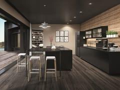Cucina laccata con isola TELERO | Cucina con isola -