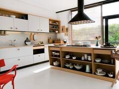 Cucina componibile con isola in Fenix Grigio EfesoLEPIC | Cucina con isola - TONCELLI
