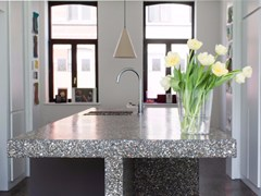 Top cucina con rivestimento mineraleBEALSTONE | Top cucina - BEAL INTERNATIONAL