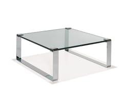 Tavolino basso in vetro KLASSIK | Tavolino da caffè -