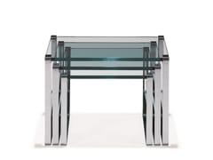 Tavolino di servizio in vetro KLASSIK | Tavolino di servizio -