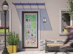 Porta d'ingresso in acciaio per esternoKLIMT - FABBRIDEA