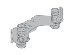 Kit di montaggio per contatori gas bituboKM3 Kit con 2 valvole versione filettata - TECO