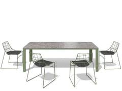 Tavolo da giardino rettangolareKODO | Tavolo da giardino - SOVET ITALIA