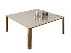 Tavolo quadrato in vetro KODO | Tavolo quadrato - Kodo
