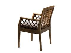 Sedia in legno con braccioli KOS   Sedia con braccioli -