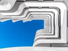 Facciata ventilata in Krion®KRION - BUTECH - PORCELANOSA GRUPO