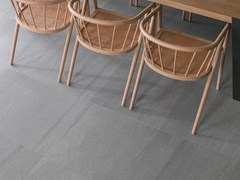 Pavimento/rivestimento in gres porcellanato effetto pietra KRONO GREY - URBATEK - Grès Porcellanato