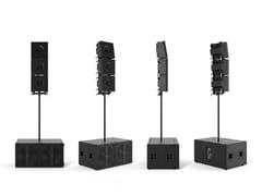 Sistema portatile di grande formato ad alte prestazioniAXLE KRX802 - K-ARRAY | UNIQUE AUDIO SOLUTIONS