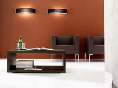 Tavolino modulare rettangolare con vano contenitore KUADRA | Tavolino rettangolare -